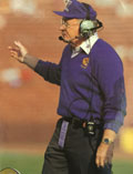 Legendary Football Coach Don James